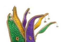 korony gras dowcipnisia mardi maska Zdjęcie Royalty Free