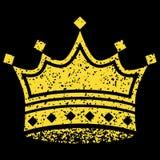 korony kolor żółty Zdjęcie Royalty Free