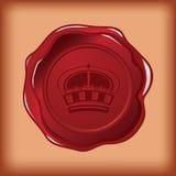 korony królewski foki wosk Zdjęcia Royalty Free
