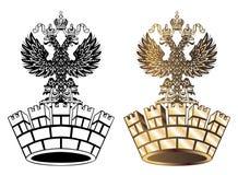korony królewski złoty Obraz Royalty Free