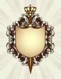 korony osłony kordzik ilustracji