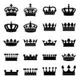 korony ustawiać royalty ilustracja