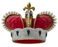 korony złoto ilustracja wektor