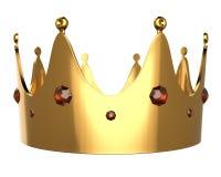 korony złoto Zdjęcia Royalty Free