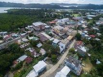 KOROR, ПАЛАУ - 3-ЬЕ ДЕКАБРЯ 2016: Городок Koror в острове Палау стоковое фото