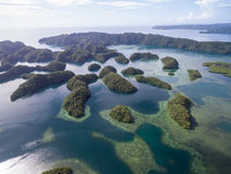 Koror Island in Palau. Archipelago, part of Micronesia Region. Koror Island in Palau. Archipelago, part of Micronesia royalty free stock photography