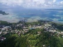 Koror Island in Palau. Archipelago, part of Micronesia Region Stock Images