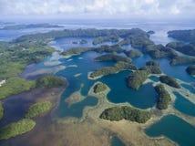 Koror Island in Palau. Archipelago, part of Micronesia Region Royalty Free Stock Image
