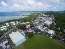 KOROR PALAU - DECEMBER 03, 2016: Koror stad i den palauiska ön arkivbild
