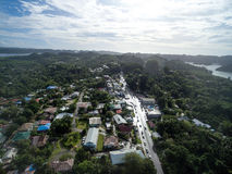 Koror Town in Palau Island. Stock Images