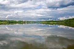 Korotskoe sjö Royaltyfri Bild