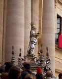 Korowód święty Lucia, Syracuse Obrazy Stock