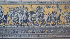 Korowód Książe w Dresden zdjęcie stock