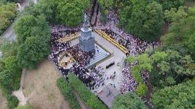 Korowód Ukraiński Ortodoksalny kościół Moskwa patriarchat zdjęcie wideo