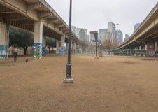 Korowata Parkowa centrala, Głęboki Ellum, Teksas fotografia stock