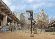 Korowata Parkowa centrala, Głęboki Ellum, Teksas obrazy royalty free