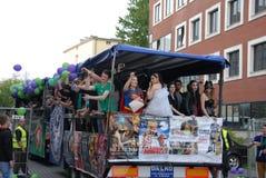 Korowod 2014 - feriado do estudante s Foto de Stock