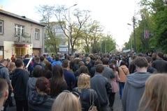 Korowod 2014 - feriado do estudante s Imagens de Stock