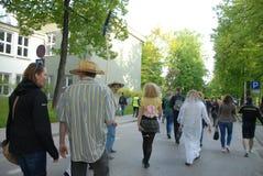 Korowod 2014 - feriado do estudante s Fotos de Stock Royalty Free