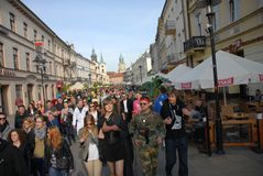 Korowod 2014 - feriado do estudante s Fotografia de Stock