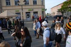 Korowod 2014 - feriado do estudante s Foto de Stock Royalty Free