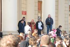 Korowod 2014 - feriado do estudante s Fotografia de Stock Royalty Free