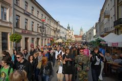 Korowod 2014 - student s holiday Stock Photo