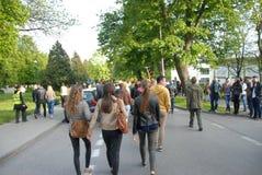 Korowod 2014 - student s holiday Stock Photos
