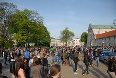 Korowod 2014 - student s holiday Royalty Free Stock Photos