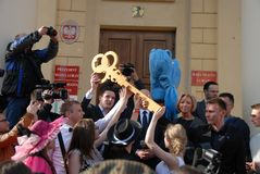 Korowod 2014 - student s holiday Royalty Free Stock Photography