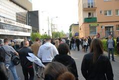 Korowod 2014 - student s holiday Royalty Free Stock Photo