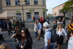 Korowod 2014 - studentens vakantie Royalty-vrije Stock Foto