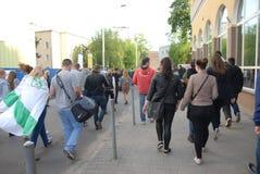 Korowod 2014 - students holiday Stock Images