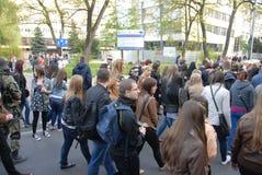 Korowod 2014 - vacances de l'étudiant s Photos libres de droits