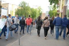 Korowod 2014 - vacances de l'étudiant s Photo libre de droits