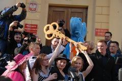 Korowod 2014 - vacances de l'étudiant s Image libre de droits