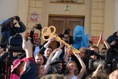 Korowod 2014 - vacances de l'étudiant s Photos stock