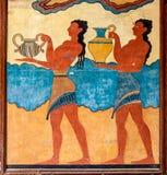 Korowodu fresk Obrazy Royalty Free