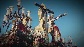 Korowodu ` przebaczenia `, święty tydzień Cadiz zdjęcie wideo