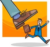 Korporacje i mały biznes kreskówka ilustracja wektor