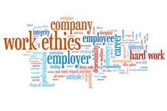 Korporacyjne etyki ilustracja wektor