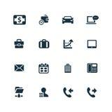 Korporacyjne ikony ustawiać Zdjęcia Stock