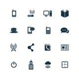 Korporacyjne ikony ustawiać Obraz Royalty Free