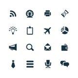 Korporacyjne ikony ustawiać Zdjęcie Stock
