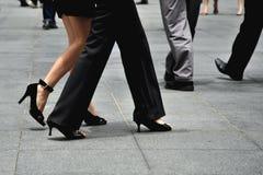 korporacyjne nogi Fotografia Stock