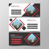 Korporacyjnego biznesu sztandaru szablon, horyzontalnego reklamowego biznesu sztandaru układu szablonu projekta płaski set, czyst Obrazy Stock