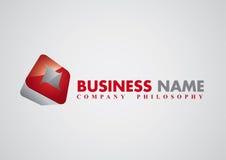 korporacyjnego loga nowożytny wektor Obrazy Stock