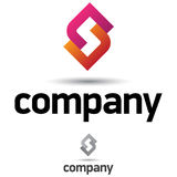 korporacyjnego projekta loga szablon Zdjęcia Stock