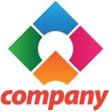 korporacyjnego projekta loga szablon Fotografia Royalty Free