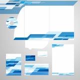 Korporacyjnej tożsamości szablonu wektor Zdjęcia Royalty Free